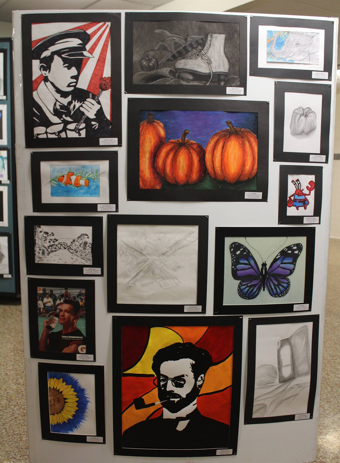2019 Middle School and High School Art Show 32