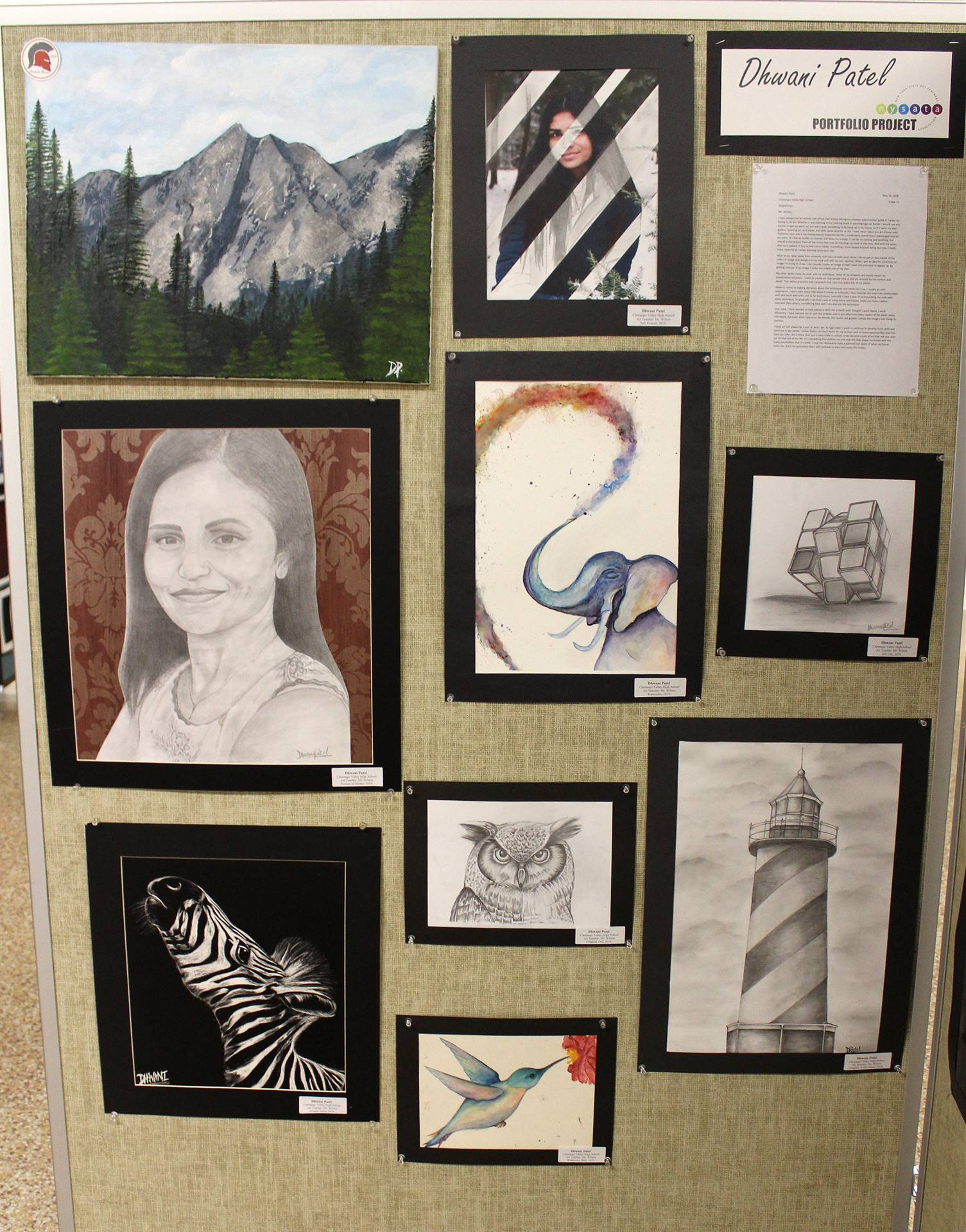 2019 Middle School and High School Art Show 42