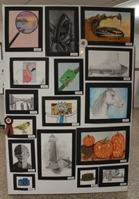 2019 Middle School and High School Art Show 28