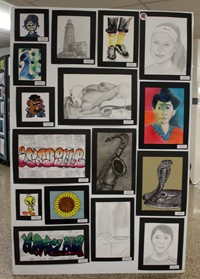 2019 Middle School and High School Art Show 27