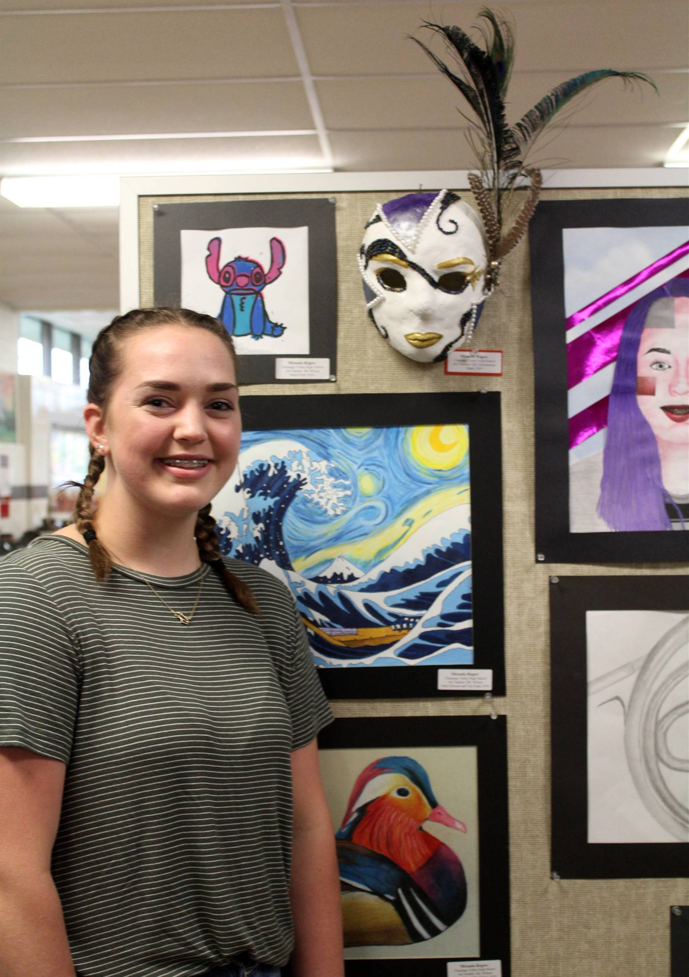 2019 Middle School and High School Art Show 26
