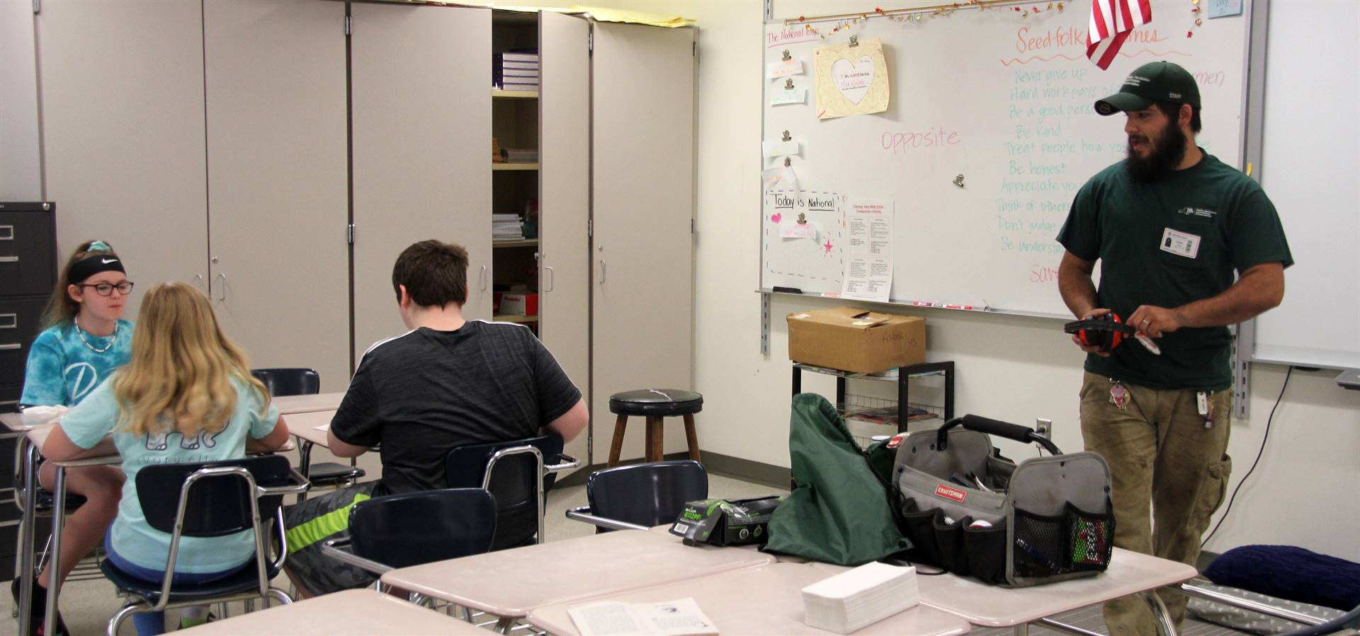 Sixth Grade Career Day 23