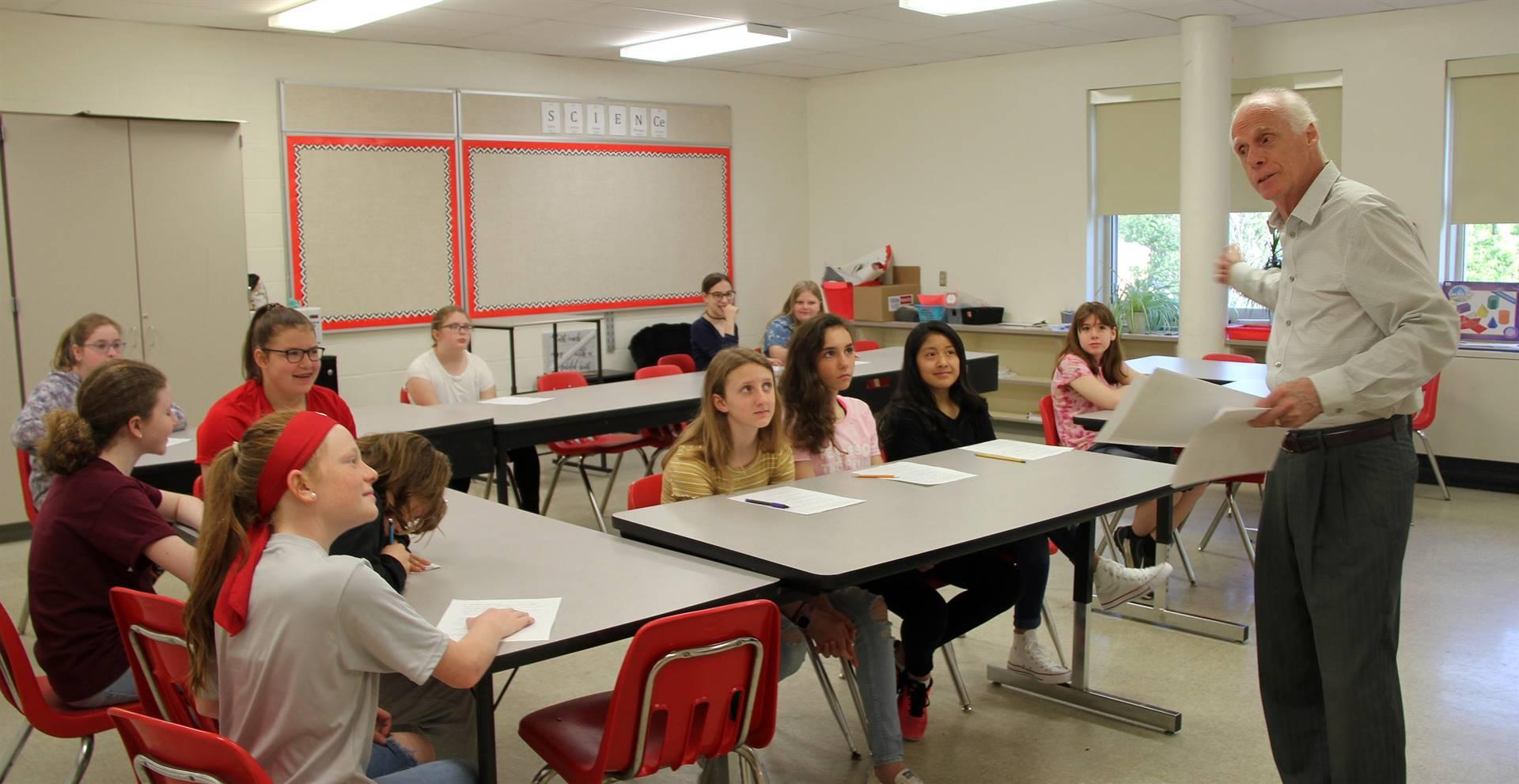 Sixth Grade Career Day 16