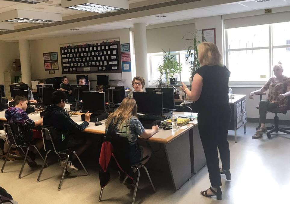 Sixth Grade Career Day 12