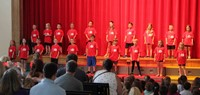 students singing in first grade show 7