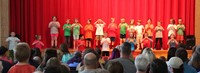 students singing in first grade show 4