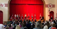 students singing in first grade show 2