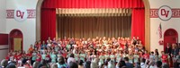 students singing in first grade show 1