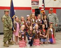 Port Dickinson Elementary Flag Day Ceremony Photo 60