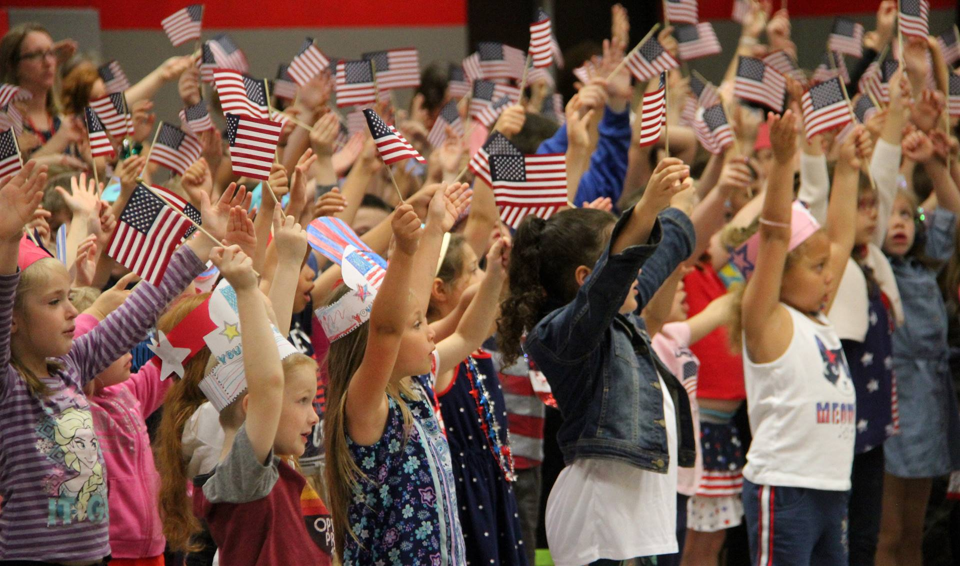 Port Dickinson Elementary Flag Day Ceremony Photo 55