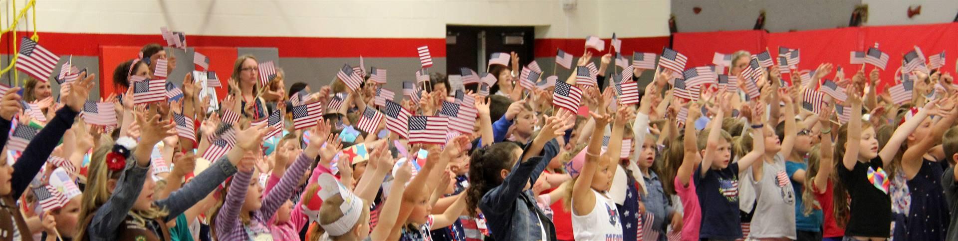Port Dickinson Elementary Flag Day Ceremony Photo 54