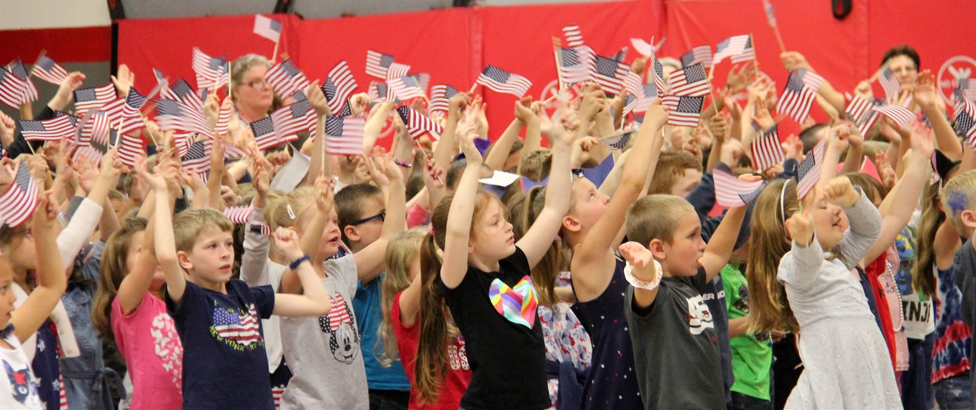 Port Dickinson Elementary Flag Day Ceremony Photo 53