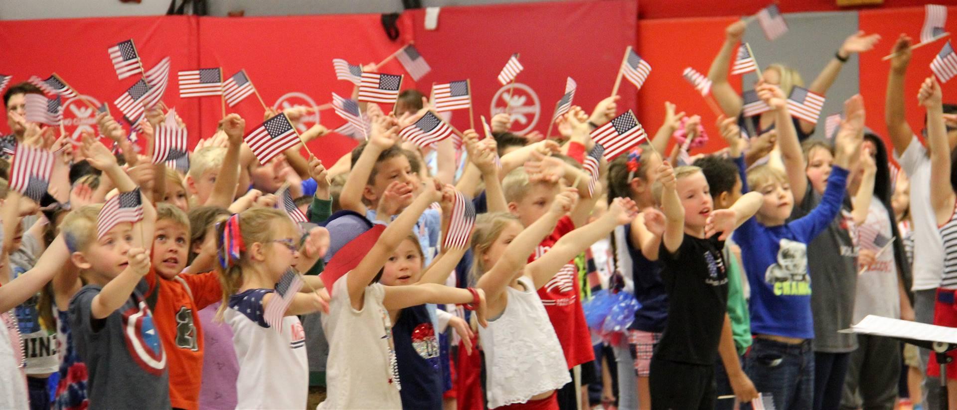Port Dickinson Elementary Flag Day Ceremony Photo 52