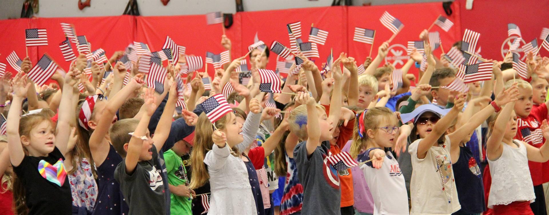 Port Dickinson Elementary Flag Day Ceremony Photo 51