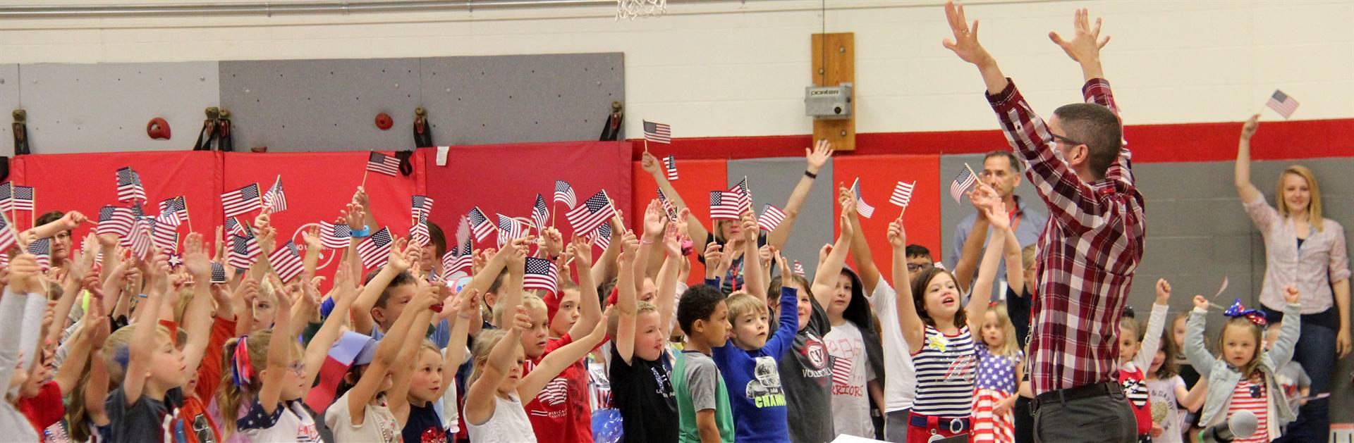 Port Dickinson Elementary Flag Day Ceremony Photo 50