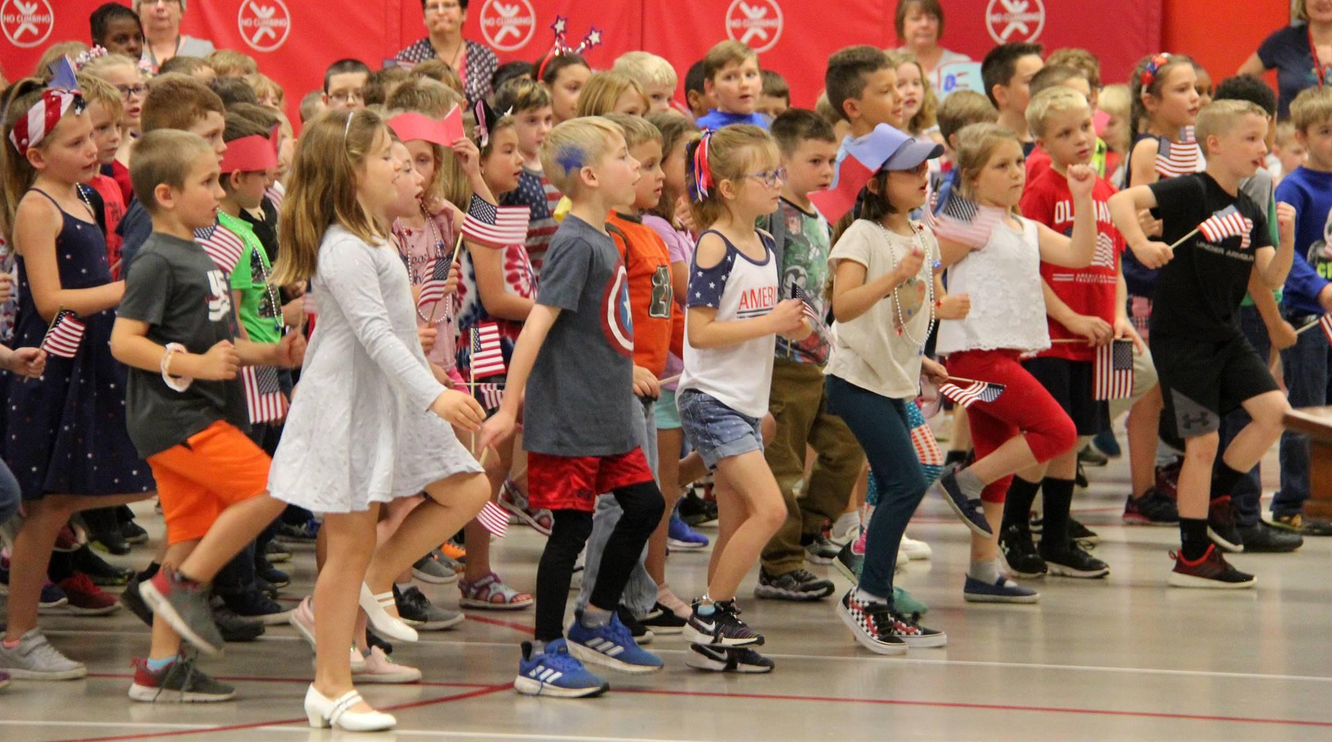 Port Dickinson Elementary Flag Day Ceremony Photo 48