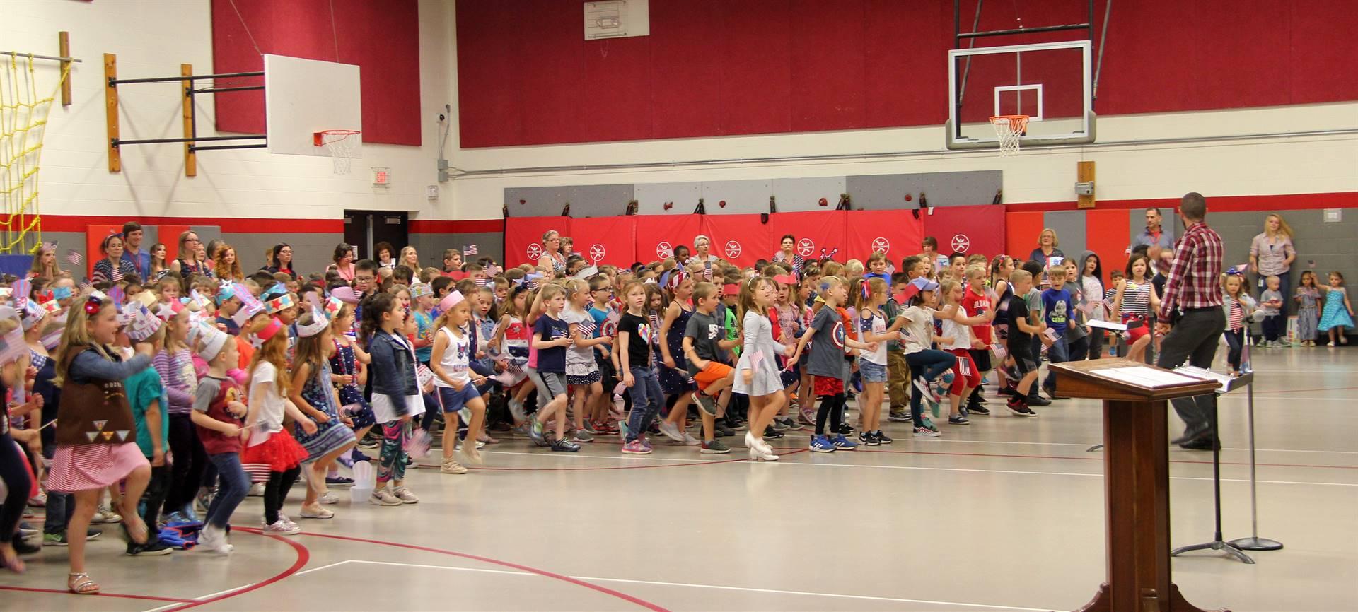 Port Dickinson Elementary Flag Day Ceremony Photo 47