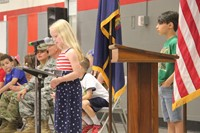 Port Dickinson Elementary Flag Day Ceremony Photo 46