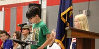 Port Dickinson Elementary Flag Day Ceremony Photo 45