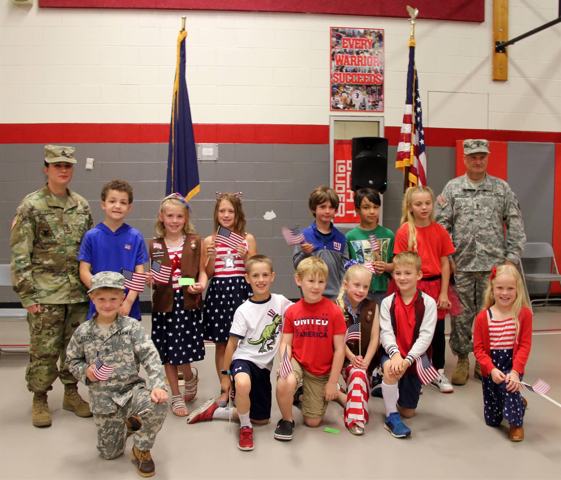 Port Dickinson Elementary Flag Day Ceremony Photo 59