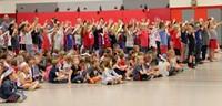 Port Dickinson Elementary Flag Day Ceremony Photo 43