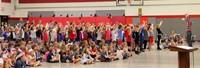 Port Dickinson Elementary Flag Day Ceremony Photo 42