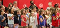 Port Dickinson Elementary Flag Day Ceremony Photo 41