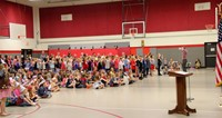 Port Dickinson Elementary Flag Day Ceremony Photo 40