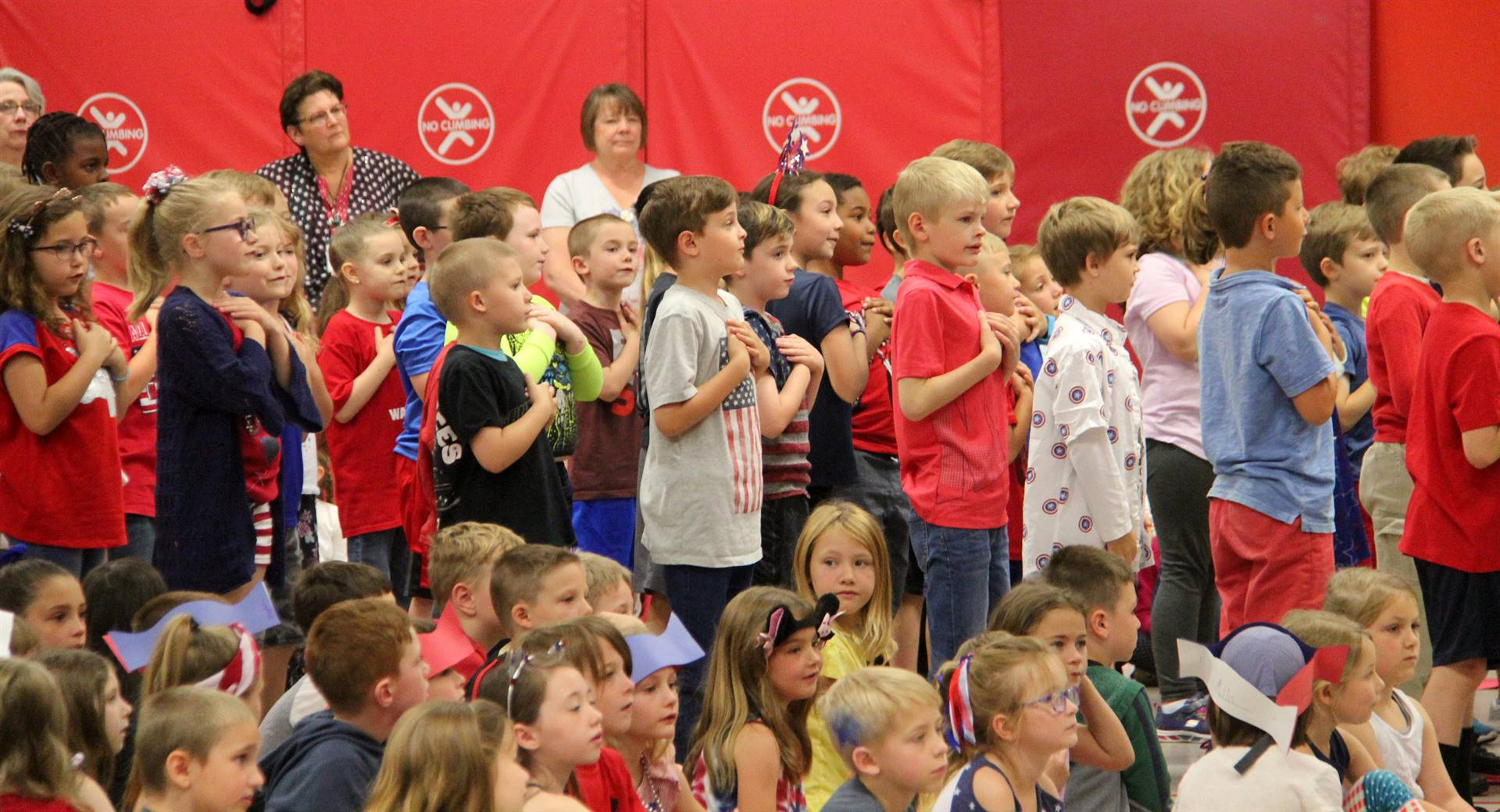 Port Dickinson Elementary Flag Day Ceremony Photo 39