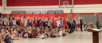 Port Dickinson Elementary Flag Day Ceremony Photo 38