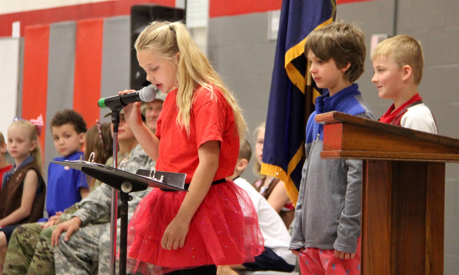 Port Dickinson Elementary Flag Day Ceremony Photo 36