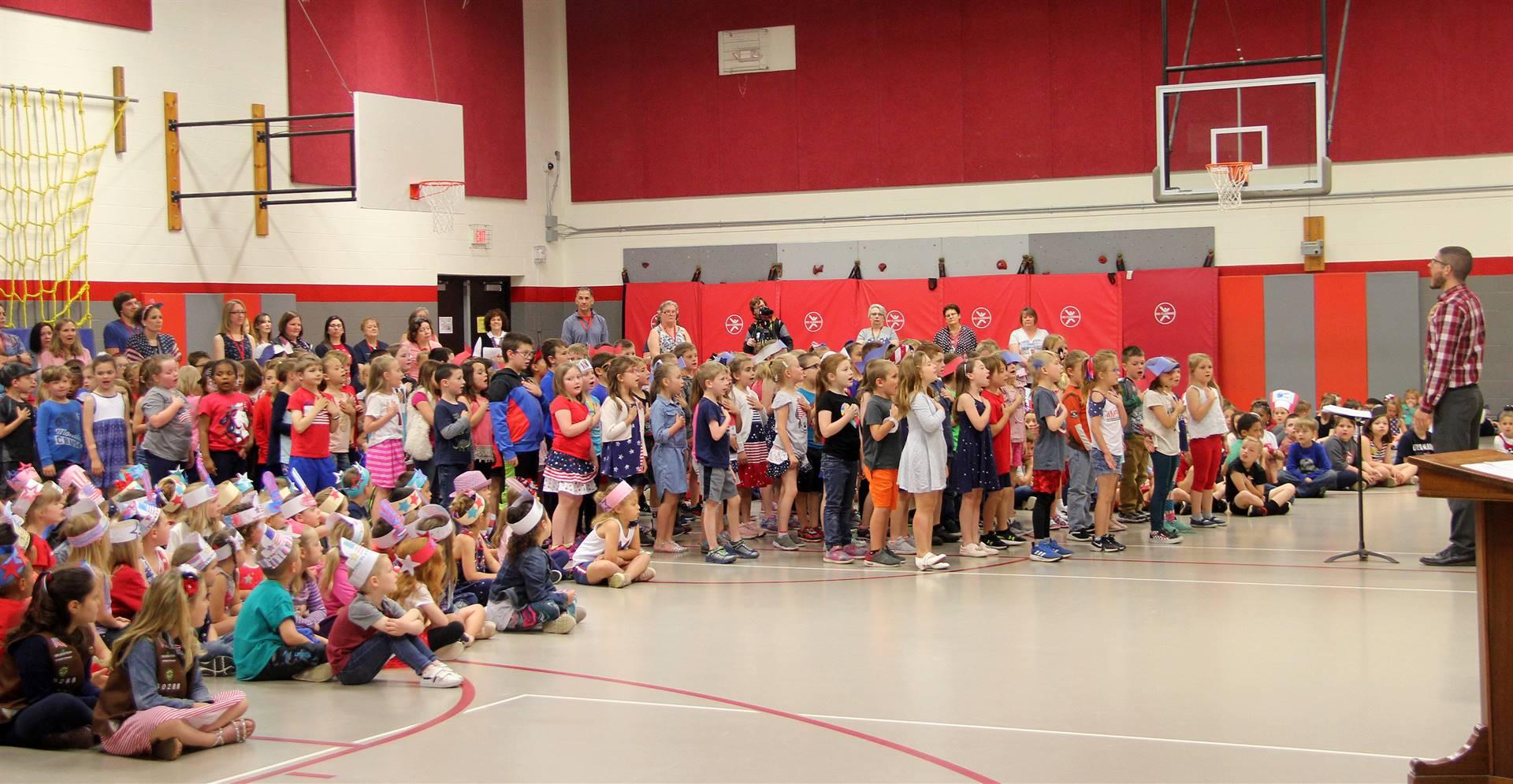 Port Dickinson Elementary Flag Day Ceremony Photo 34