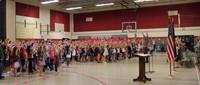Port Dickinson Elementary Flag Day Ceremony Photo 57