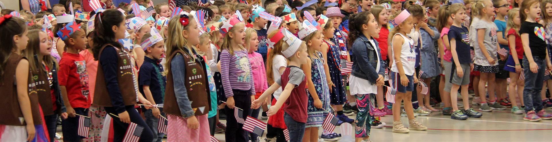 Port Dickinson Elementary Flag Day Ceremony Photo 56