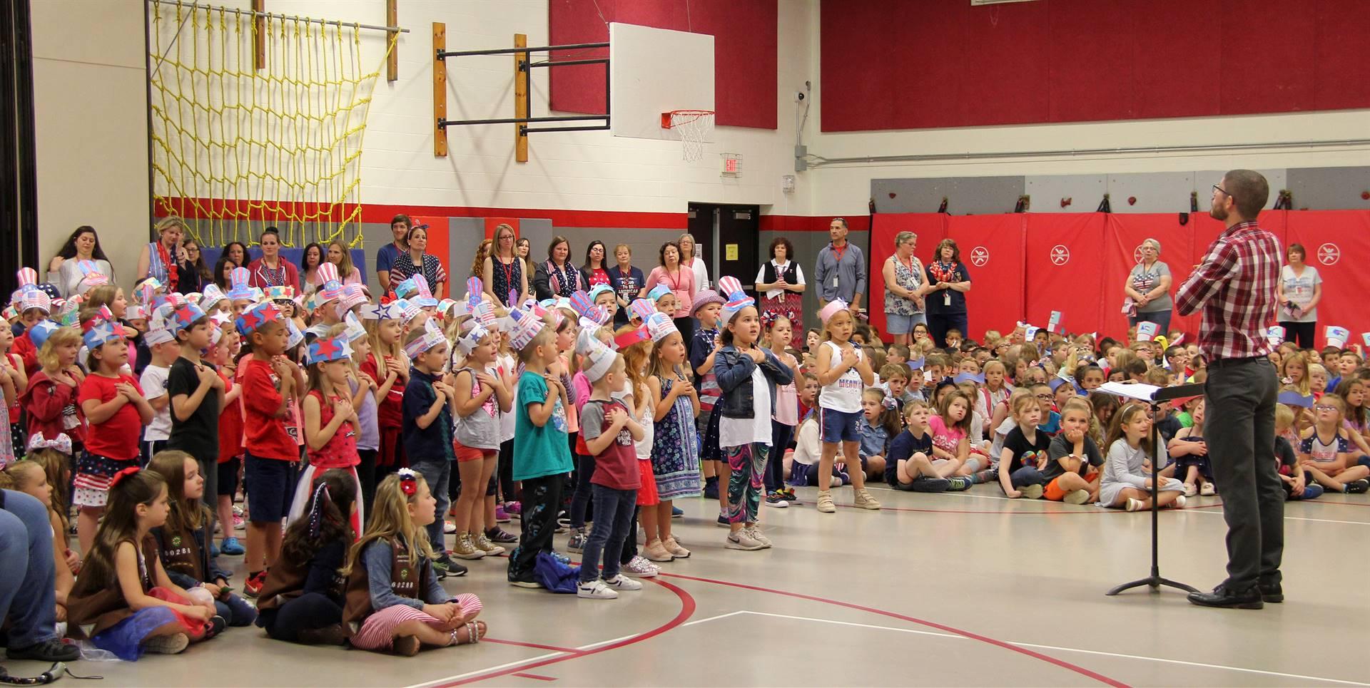 Port Dickinson Elementary Flag Day Ceremony Photo 31
