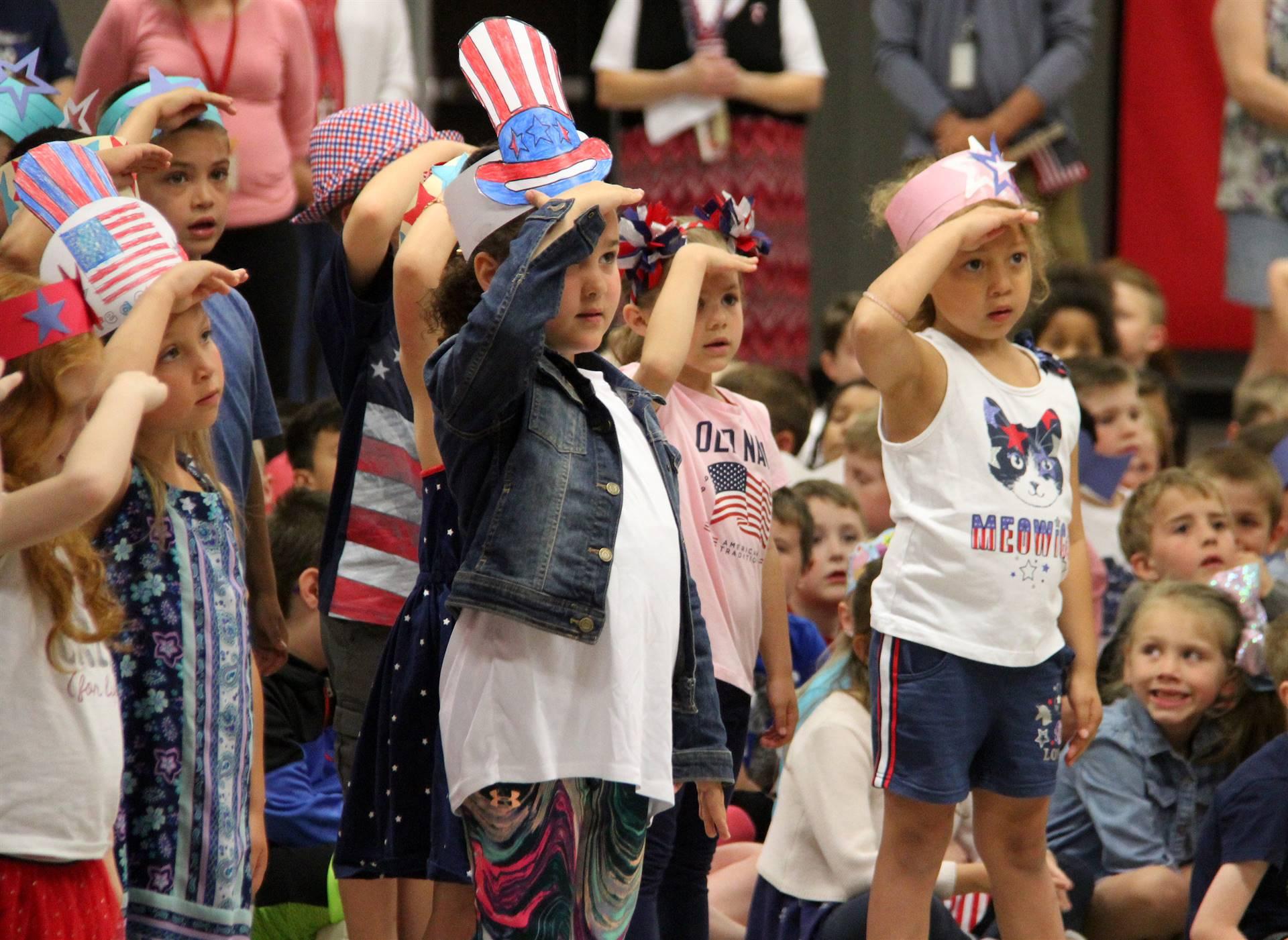Port Dickinson Elementary Flag Day Ceremony Photo 30