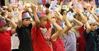 Port Dickinson Elementary Flag Day Ceremony Photo 29