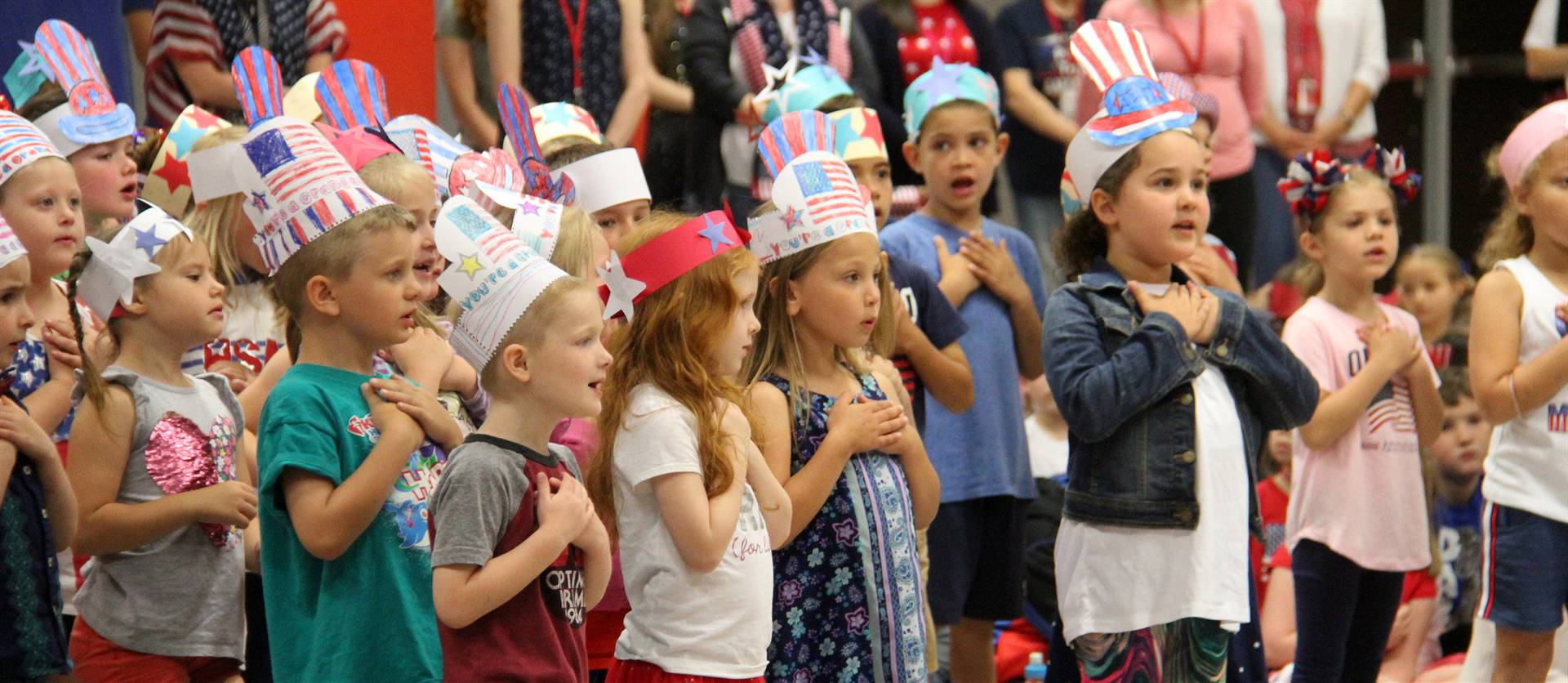 Port Dickinson Elementary Flag Day Ceremony Photo 28