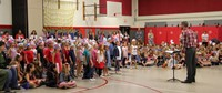 Port Dickinson Elementary Flag Day Ceremony Photo 26
