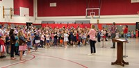 Port Dickinson Elementary Flag Day Ceremony Photo 22
