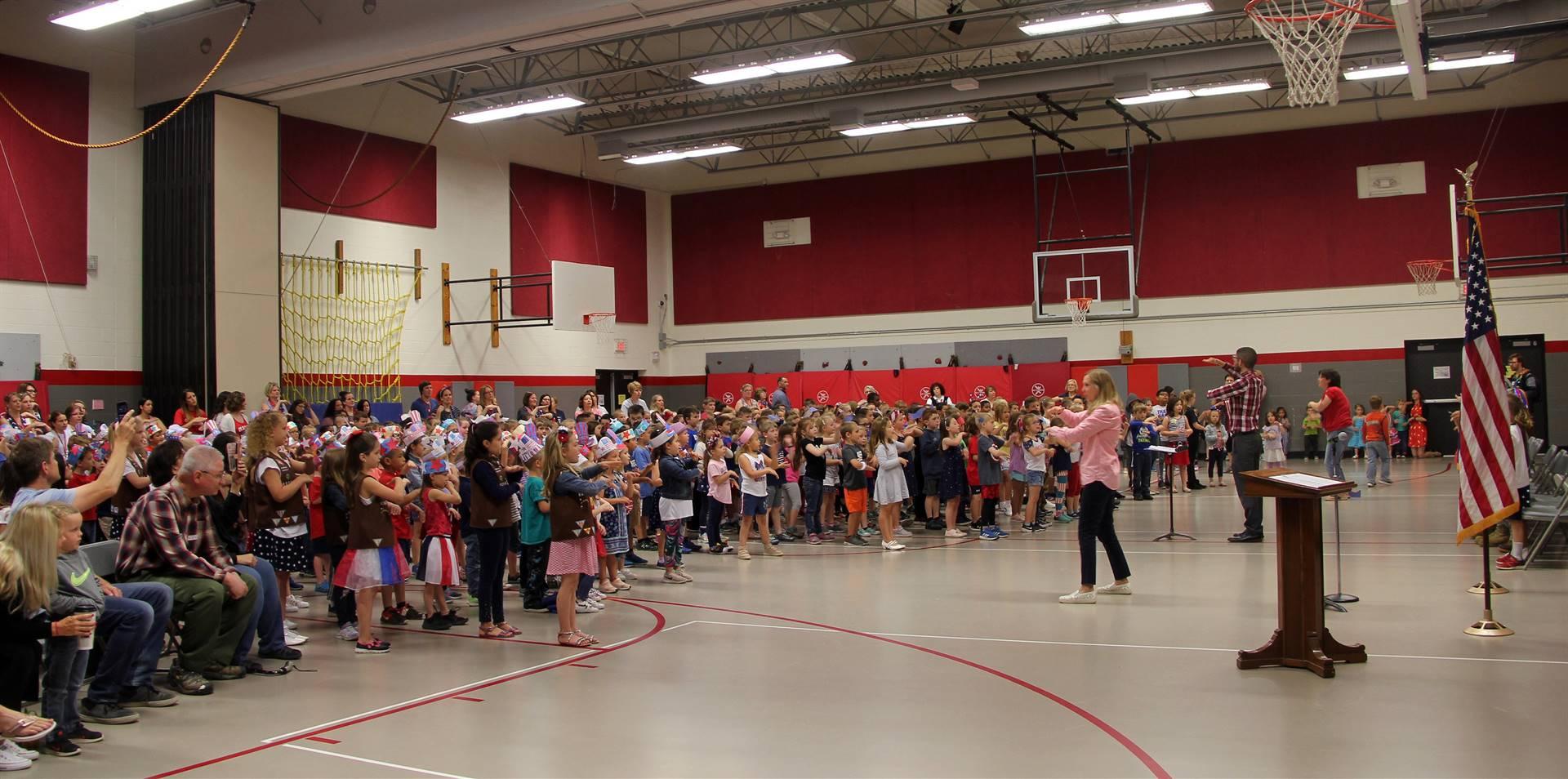 Port Dickinson Elementary Flag Day Ceremony Photo 21