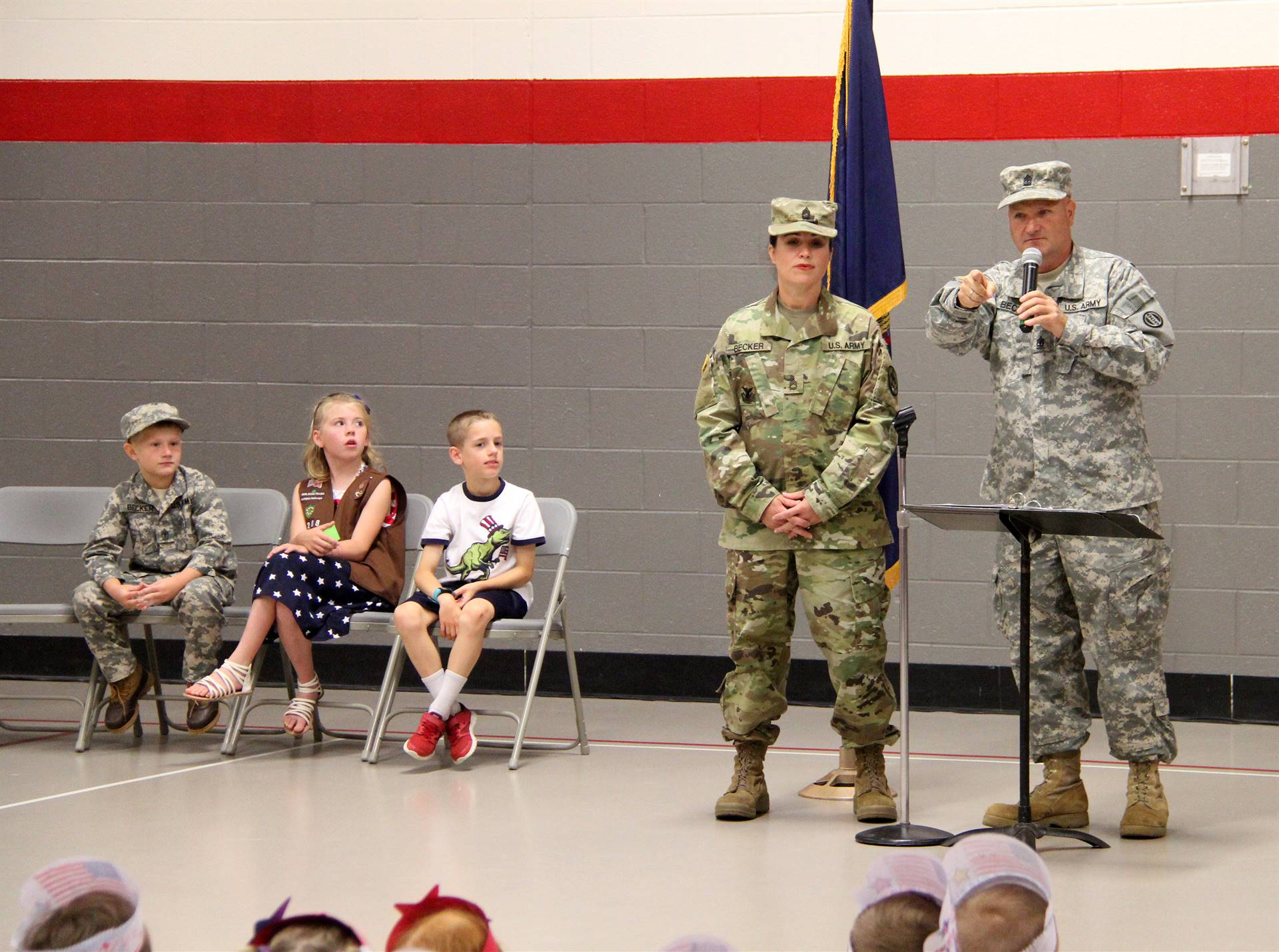 Port Dickinson Elementary Flag Day Ceremony Photo 19