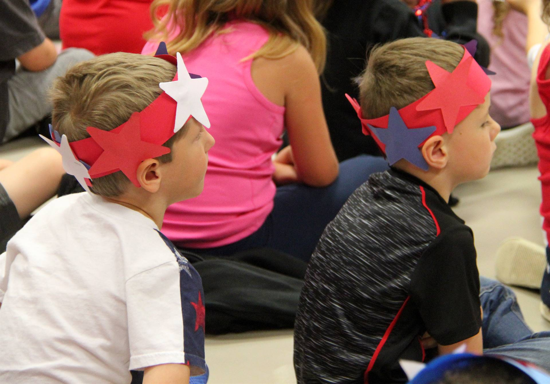 Port Dickinson Elementary Flag Day Ceremony Photo 18