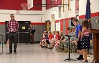 Port Dickinson Elementary Flag Day Ceremony Photo 25