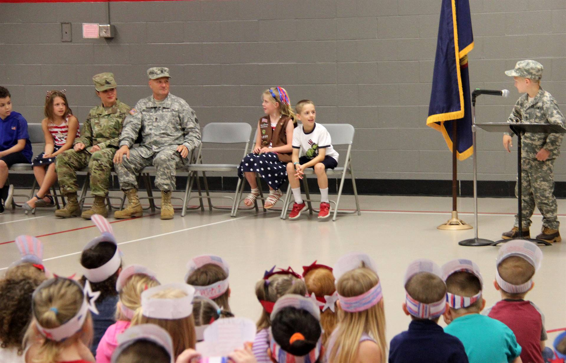 Port Dickinson Elementary Flag Day Ceremony Photo 14