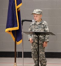 Port Dickinson Elementary Flag Day Ceremony Photo 13