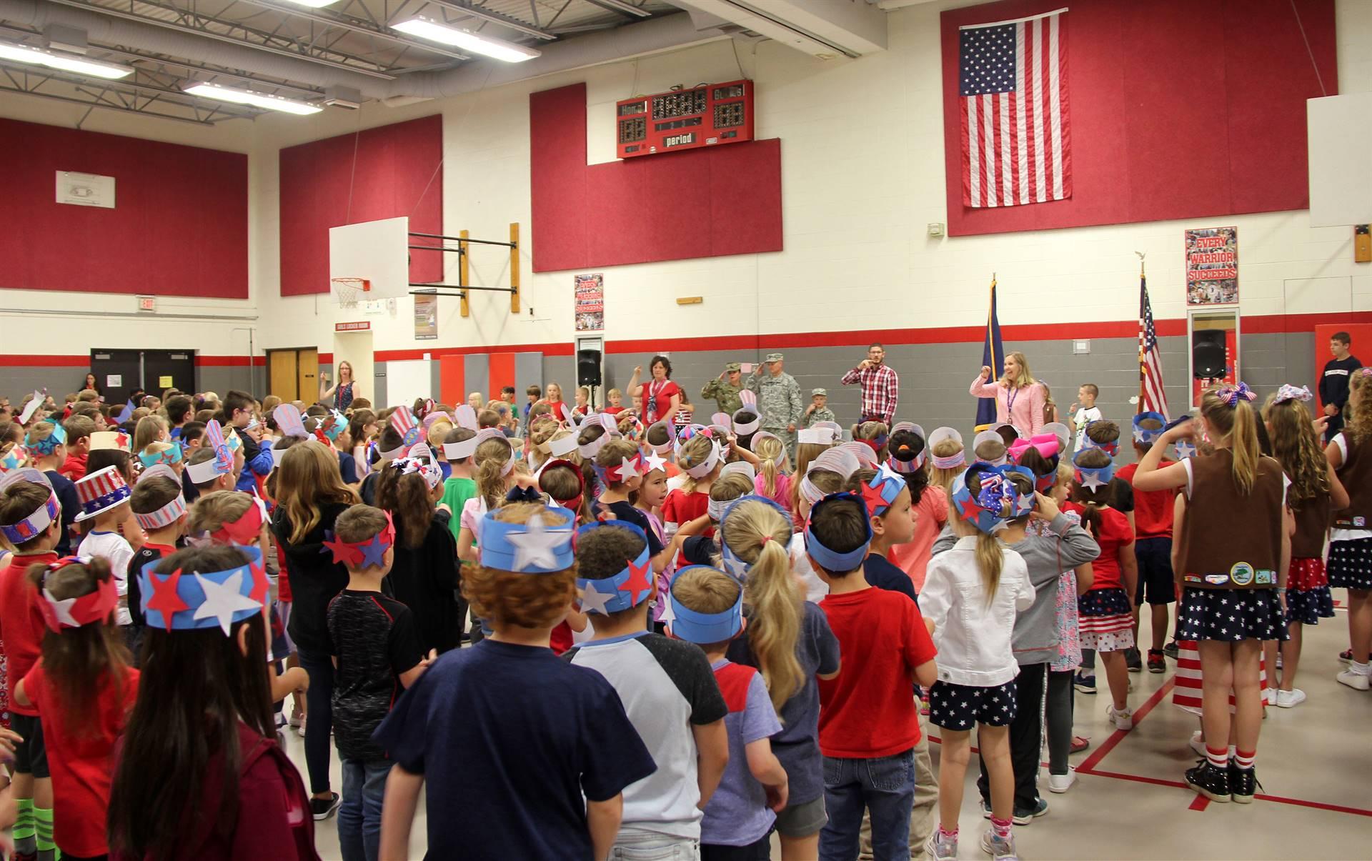 Port Dickinson Elementary Flag Day Ceremony Photo 10