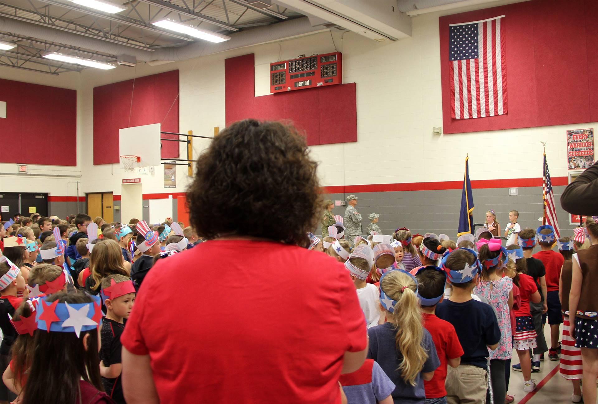 Port Dickinson Elementary Flag Day Ceremony Photo 9