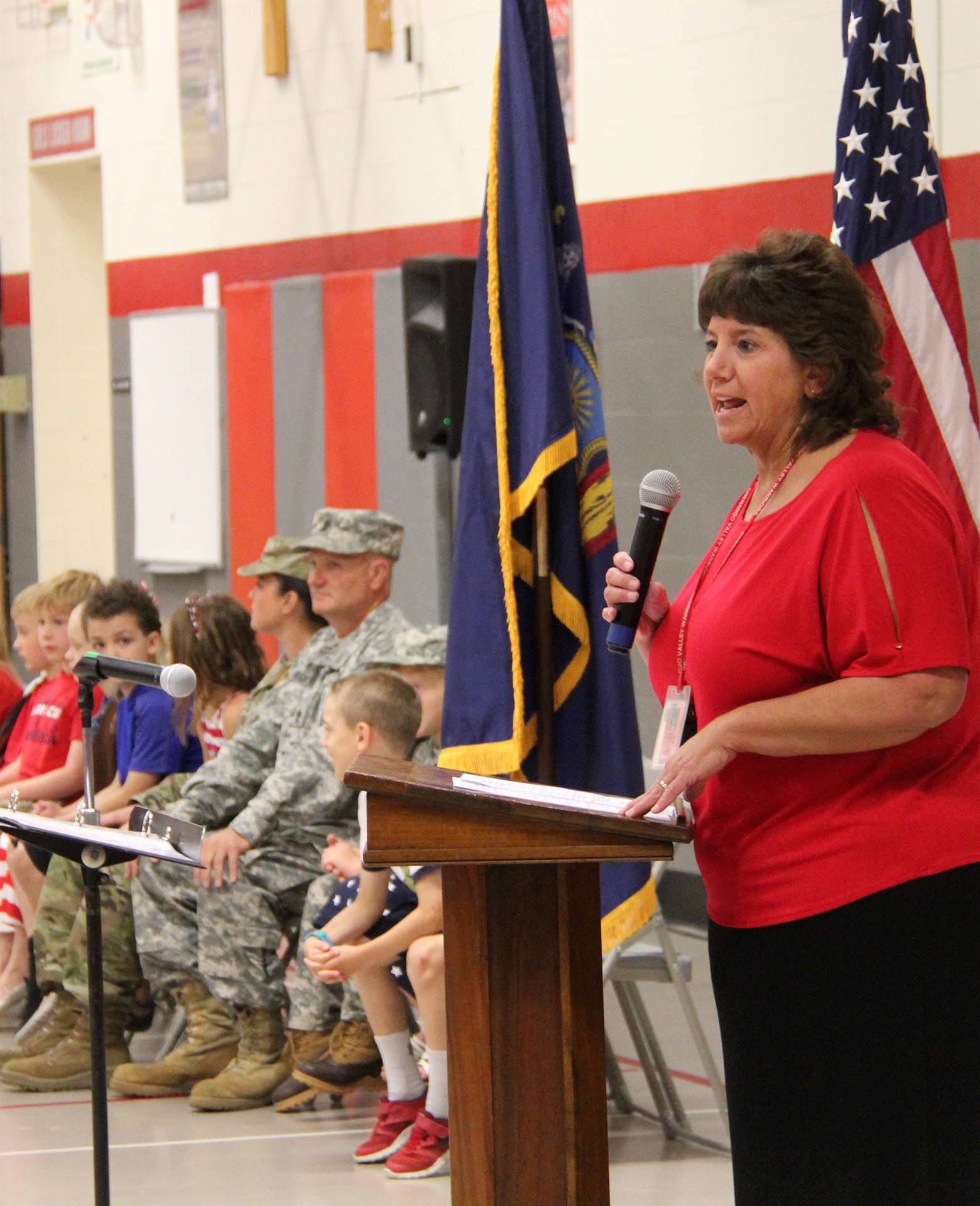 Port Dickinson Elementary Flag Day Ceremony Photo 6