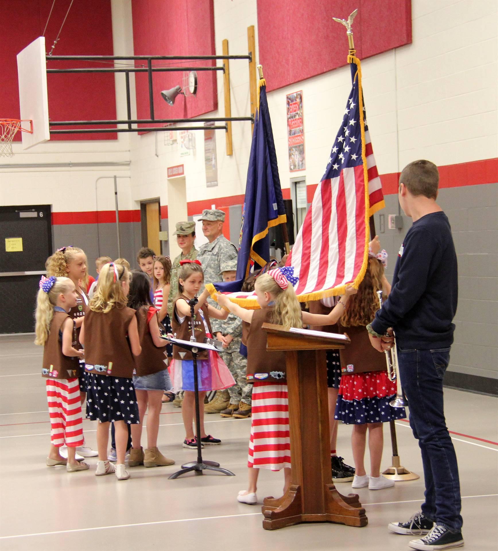 Port Dickinson Elementary Flag Day Ceremony Photo 5